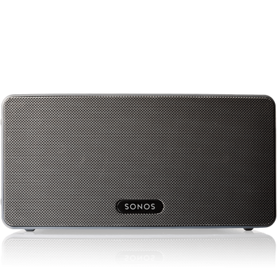 Sonos Play:3 black front view