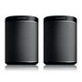 Pair of Sonos Play:1s black