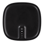 Sonos Play:1 black top view with volume and play/pause buttons