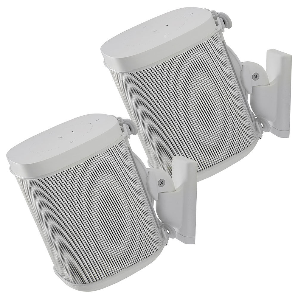 Sanus_Wall_Mounts_Pair_for_Sonos_OnePlay1Play3__White