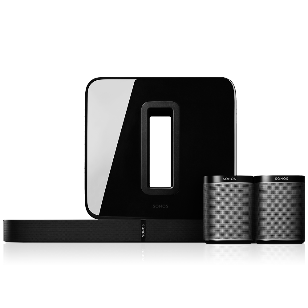 51_Surround_Sound_System__Playbase_TV_Soundbase_Play1_Speakers_&_Sub_Subwoofer__AirPlay_Compatible__Black__Sonos