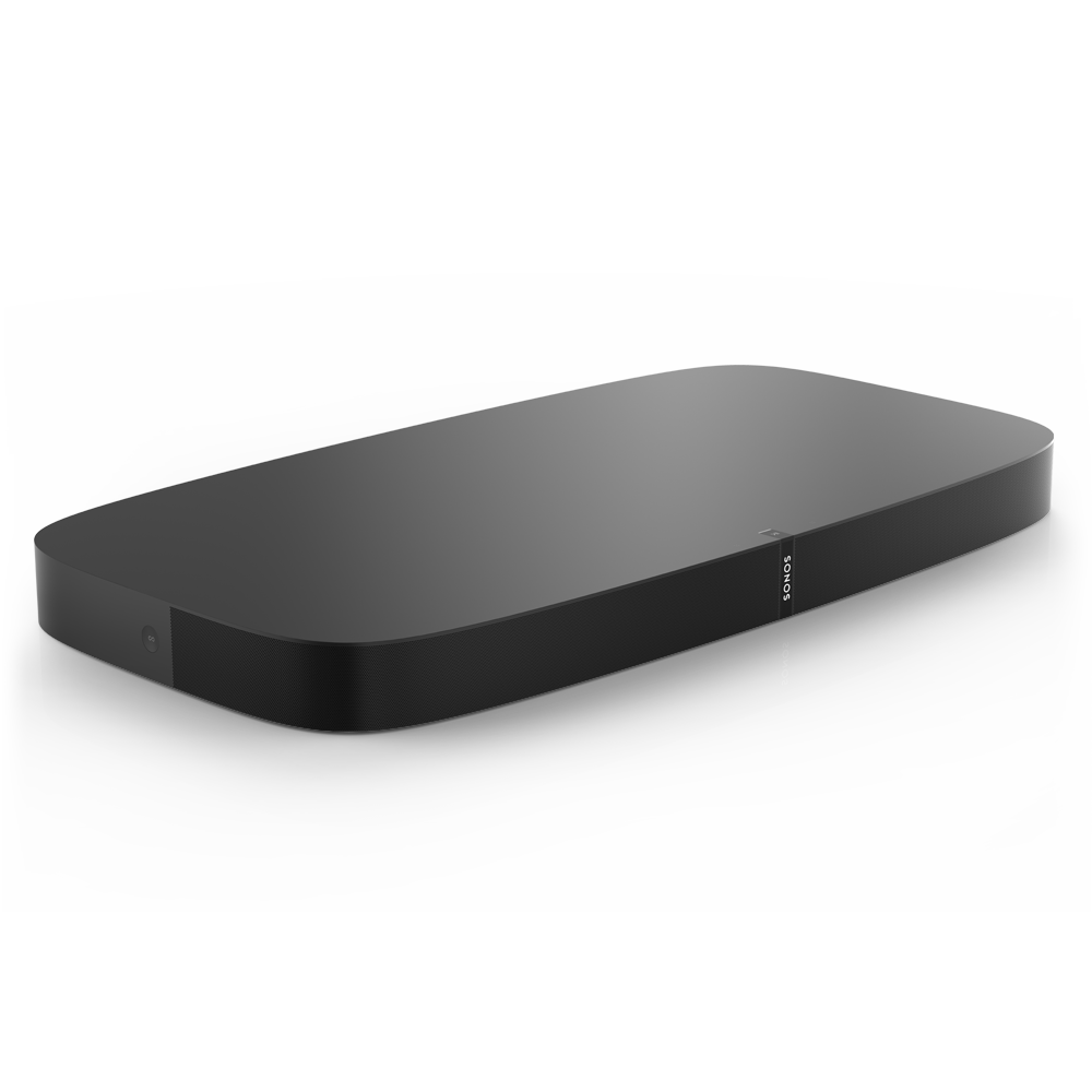 Playbase_TV_Soundbase__AirPlay_Compatible__TheaterQuality_Sound__Low_Profile_&_SpaceSaving_Woofer_Design__Black__Sonos
