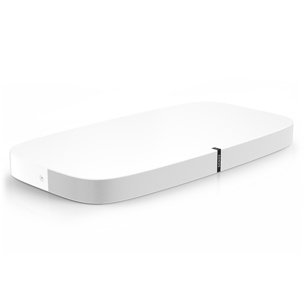 Playbase_TV_Soundbase__AirPlay_Compatible__TheaterQuality_Sound__Low_Profile_&_SpaceSaving_Woofer_Design__White__Sonos