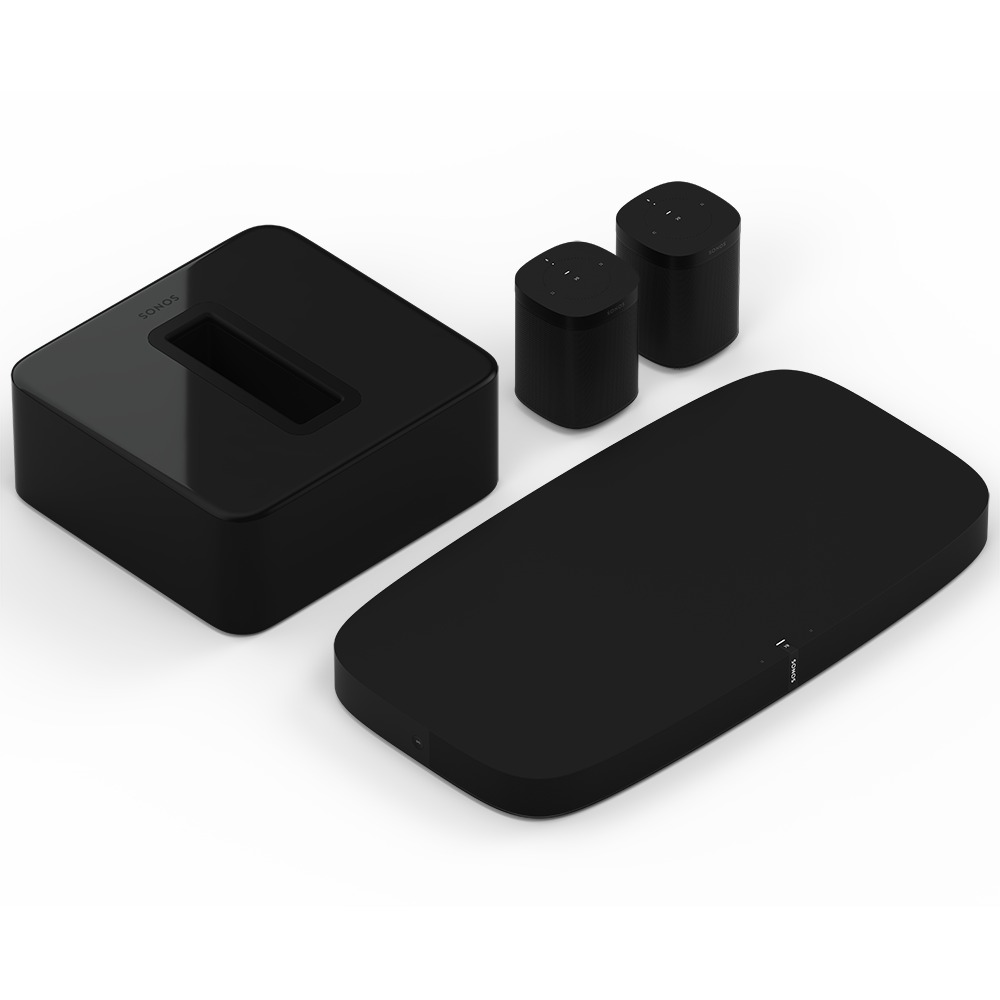 51_Surround_Sound_System__Playbase_TV_Soundbase_Sonos_One_Speakers_&_Sub_Subwoofer__Alexa_Voice_Control_&_AirPlay_Compatible__Black__Sonos