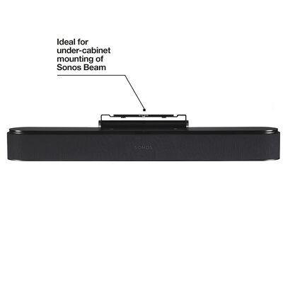Ideal for under-cabinet mounting of Sonos Beam