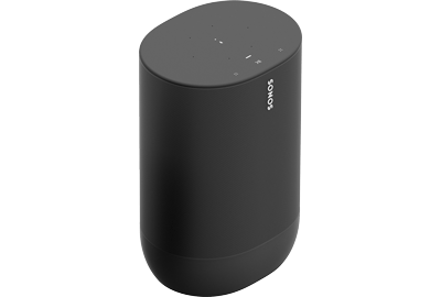 Sonos Move Portable Smart Speaker - Bluetooth & WiFi Enabled - Battery-Powered - With Google Assistant & Amazon Alexa - For Outdoors & Indoors - Black