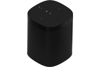 Sonos One Smart Speaker (Gen 2) - Wireless Speaker - Google Assistant & Amazon Alexa Voice Control - AirPlay Compatible - Black - Sonos