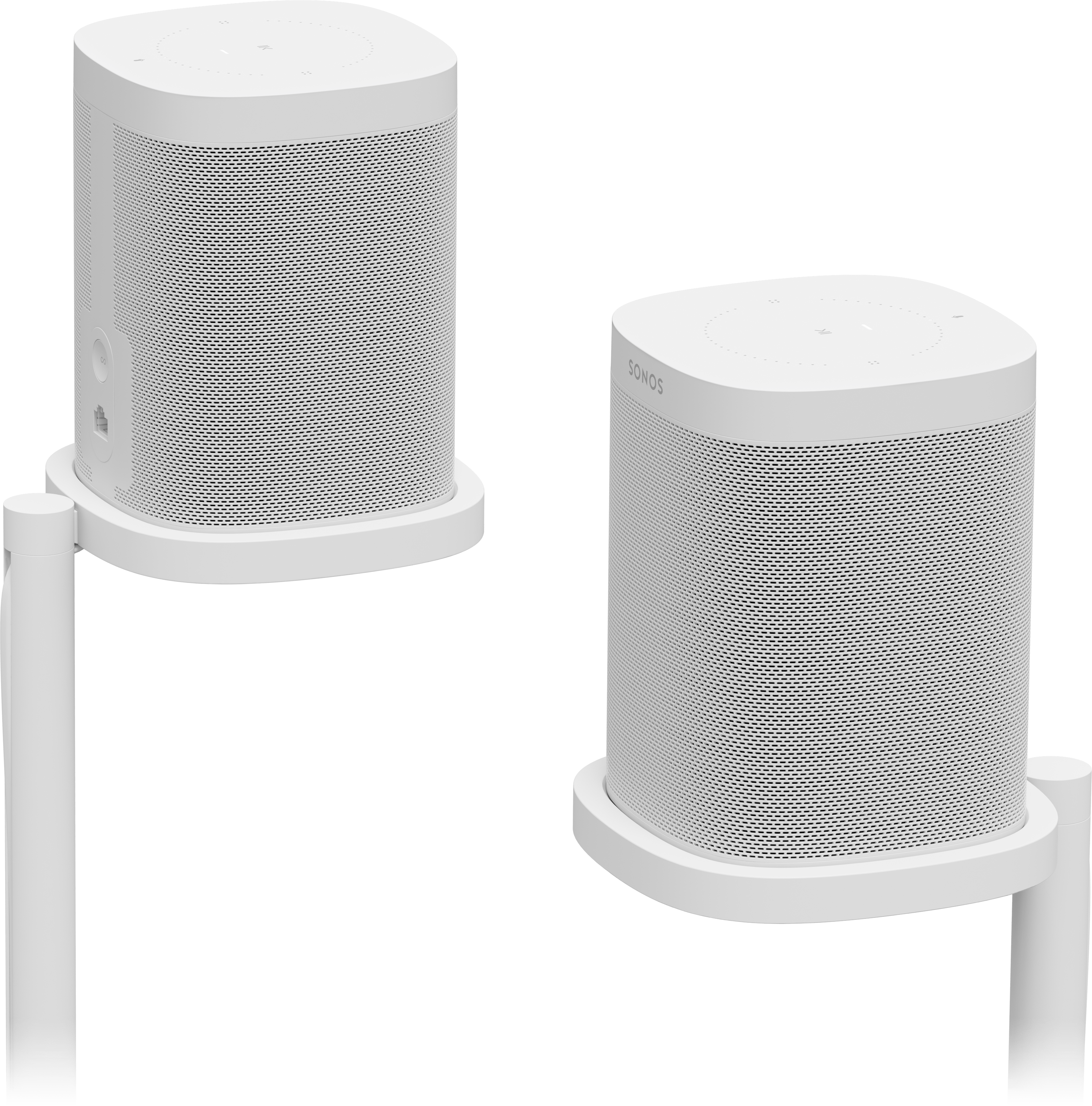Sonos Speaker Stand Pair for One and Play:1, SS1FSWW1.