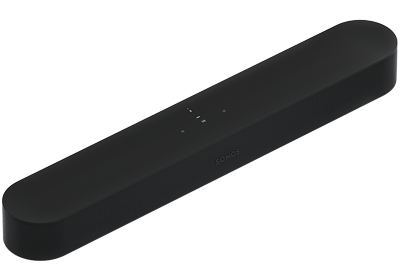 Beam Smart TV Soundbar with Google Assistant & Amazon Alexa Voice Control - AirPlay 2 Compatible - Black - Sonos