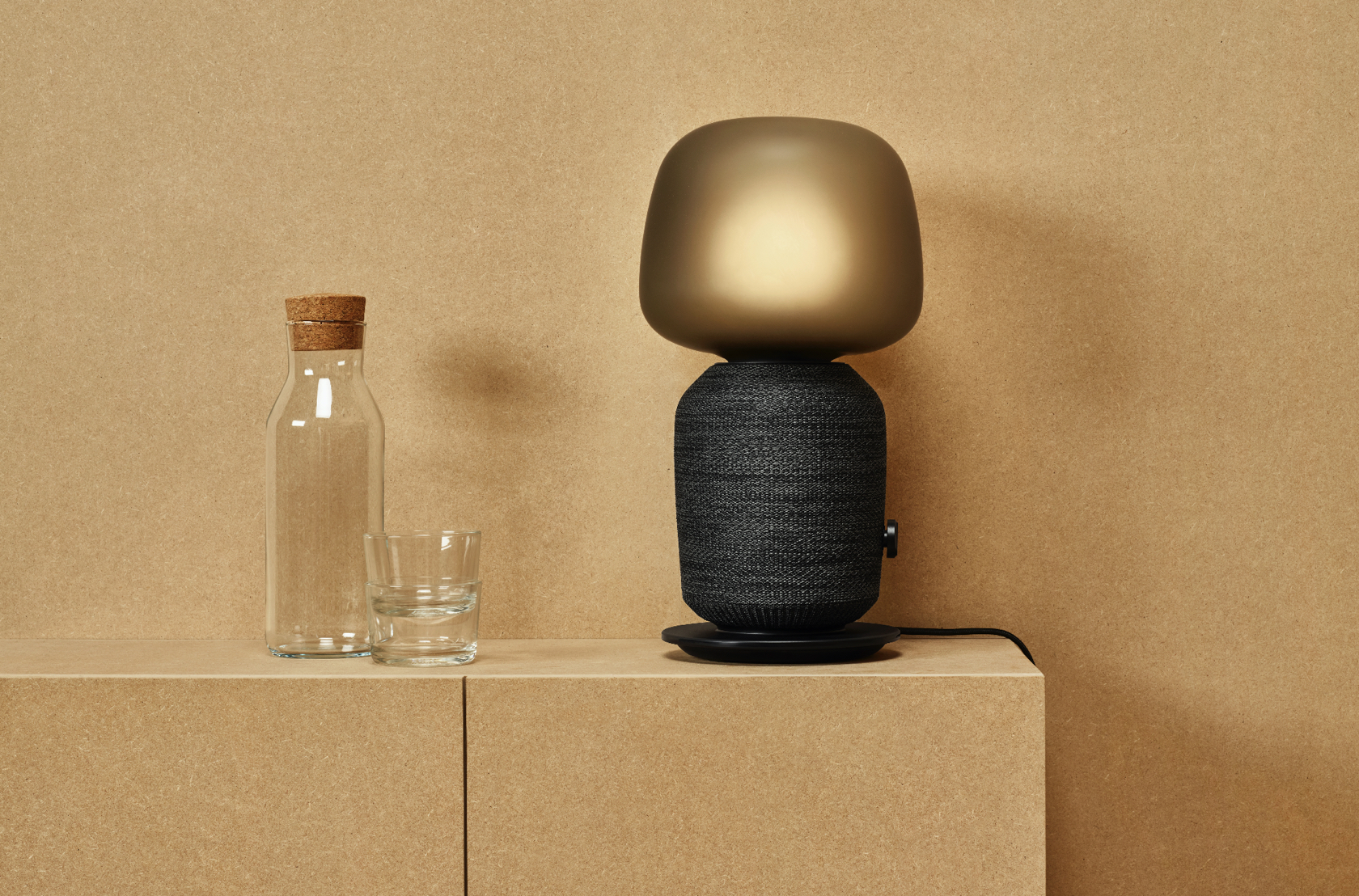sonos and ikea lamp
