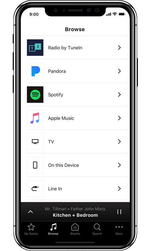 Can T Find Room Settings In Sonos App