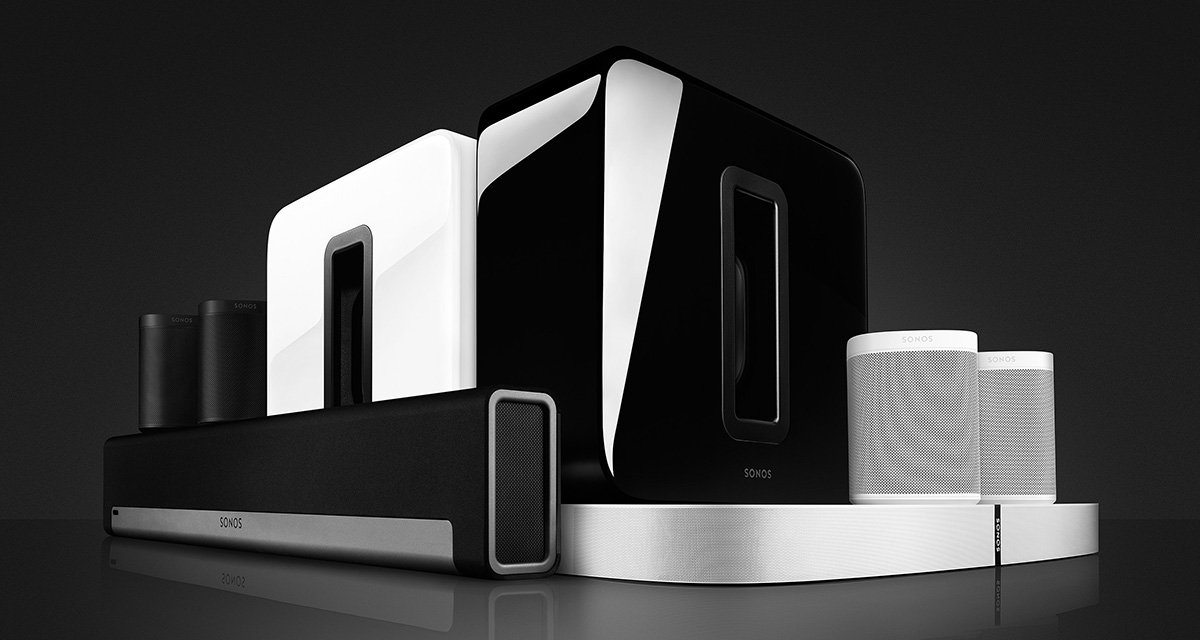 Sonos Woonkamer Opstelling : Home cinema systems en surround sound speakers sonos